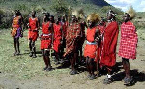 Maasai, tribù, natura