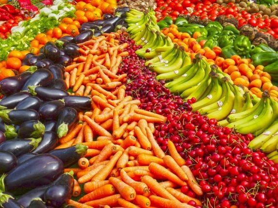 I meravigliosi colori del mercato