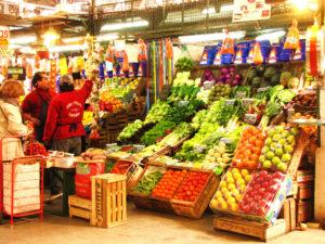 I banchi del mercato